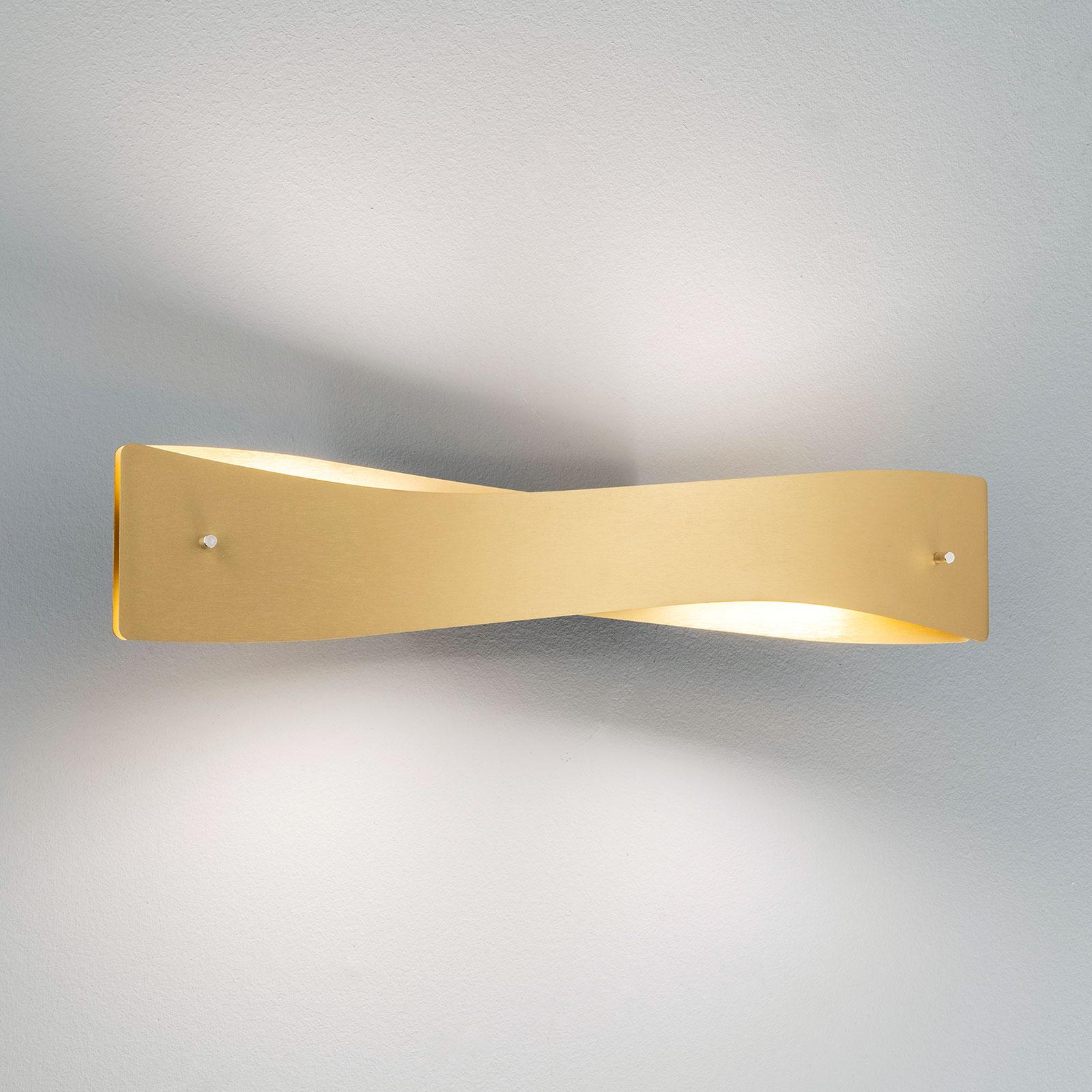 Lucande Lian LED-seinävalaisin, messinki, musta