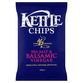 Kettle Foods Sea Salt & Balsamic Vinegar 150g