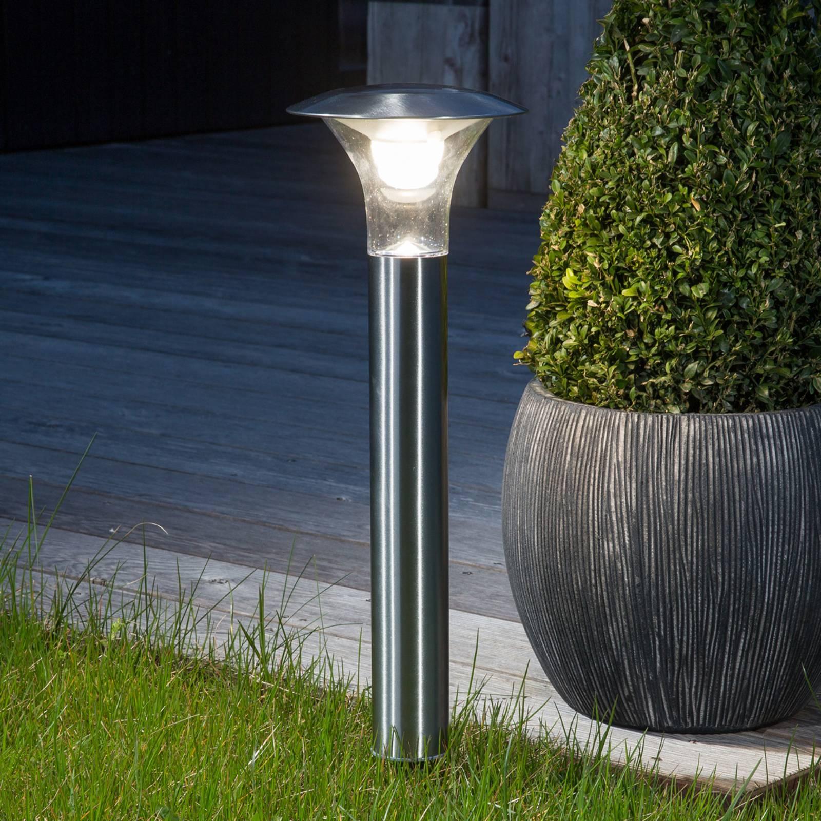Maapiikkivalaisin Jolin LEDilla, aurinkokäyttöinen
