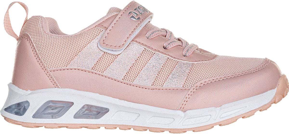 ZigZag Loopin Blinkande Sneaker, English Rose, 28