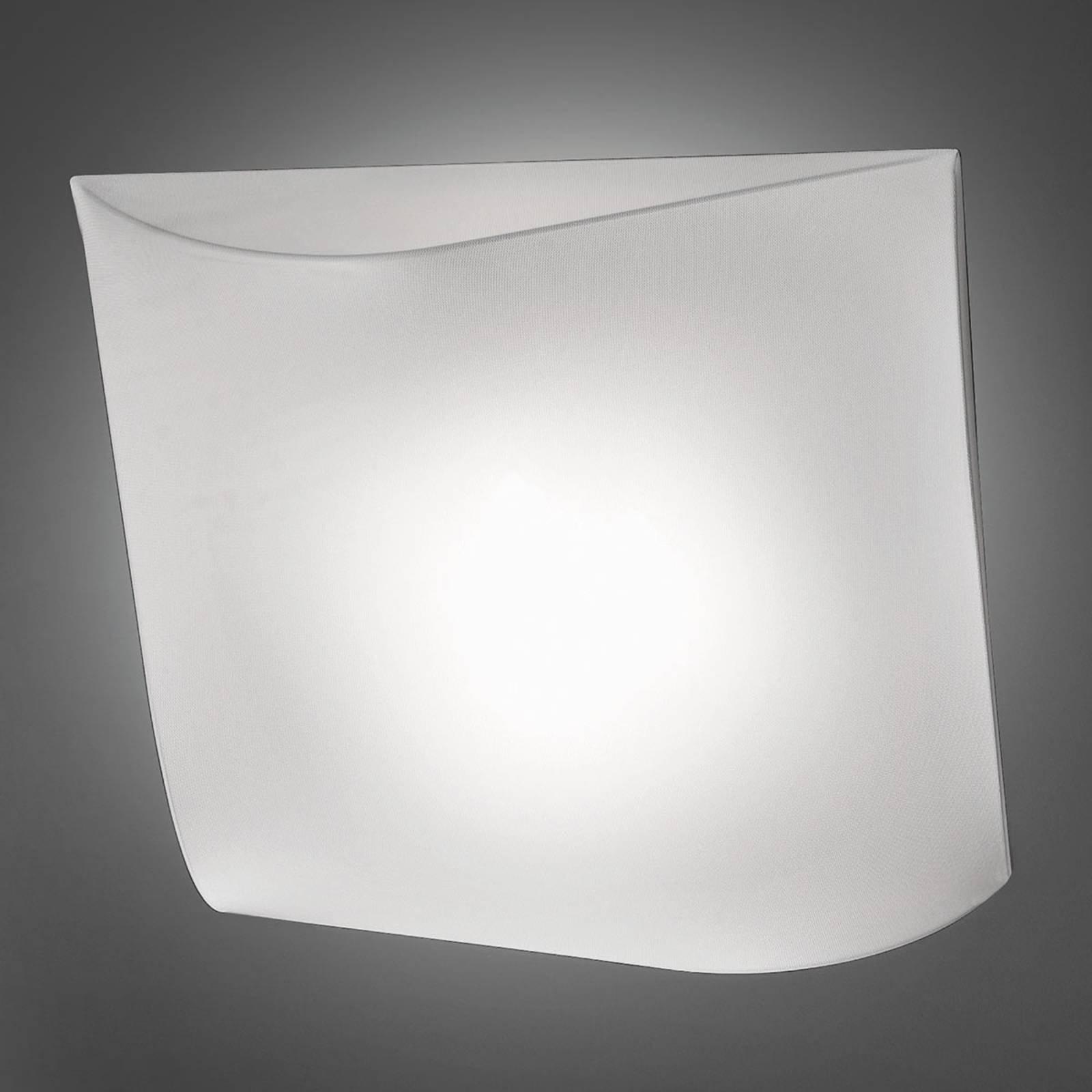 Axolight Stormy tekstil-taklampe hvit 100 cm