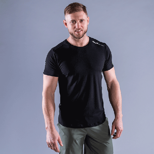 CLN Trap Bamboo T-shirt, Black