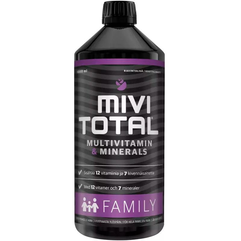 """Kosttillskott """"MiviTotal Family"""" 1l - 71% rabatt"""