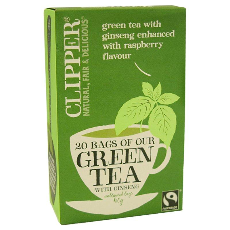 Grönt Te Ginseng & Hallon - 44% rabatt