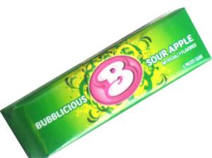 Bubblicious Sour Apple