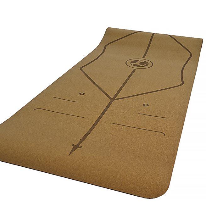 Bauer Fitness Cork Yoga Mat