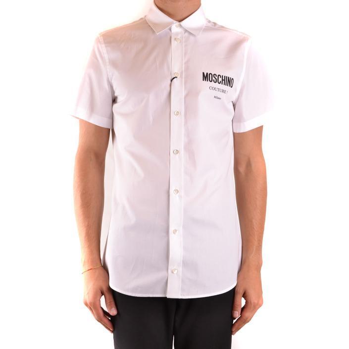 Moschino Men's Shirt White 169074 - white 40