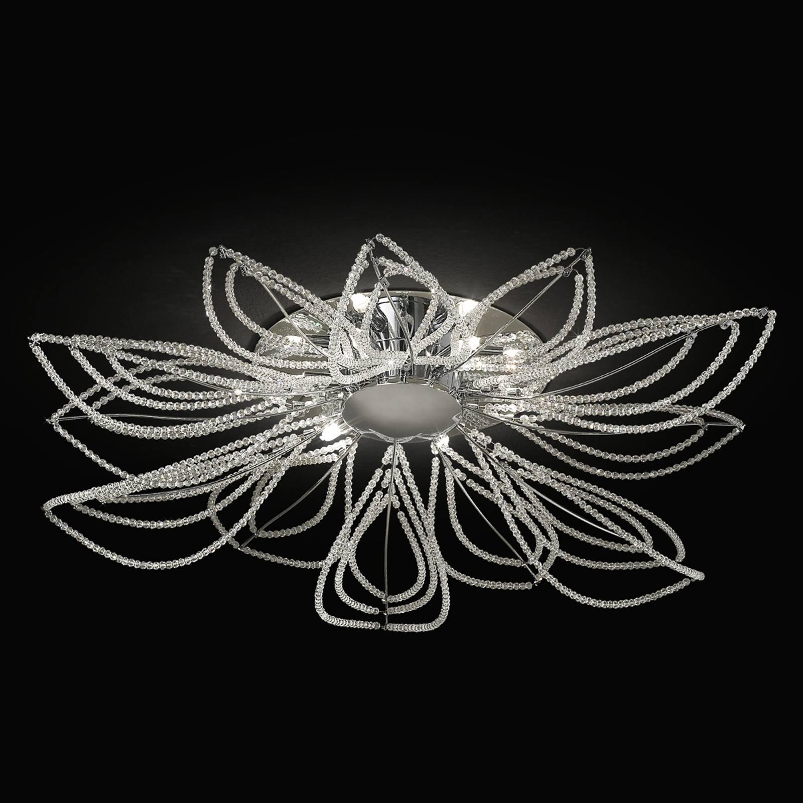 Girasole taklampe i blomsterform, 85 cm