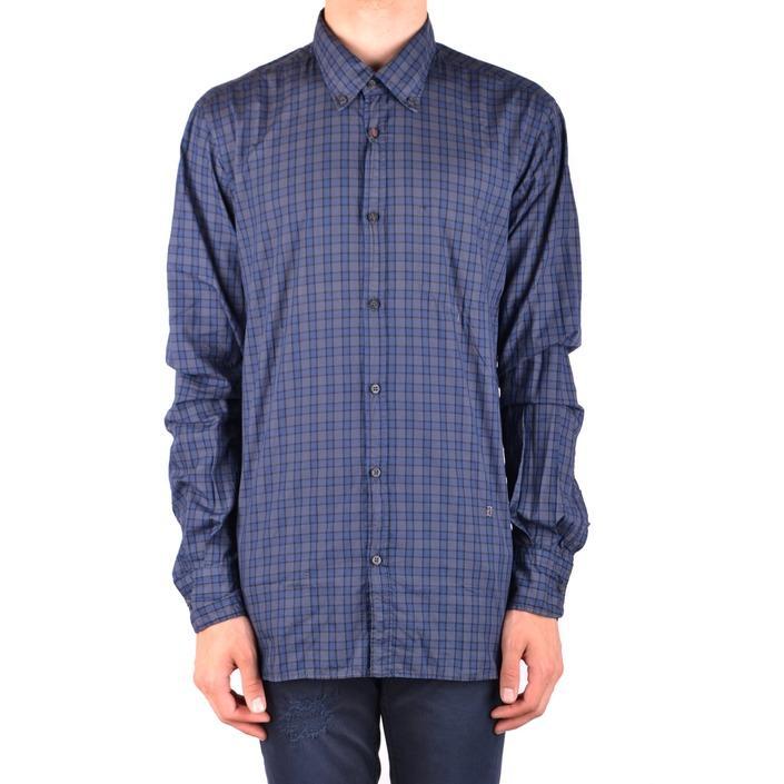 Dondup Men's Shirt Multicolor 186882 - multicolor L