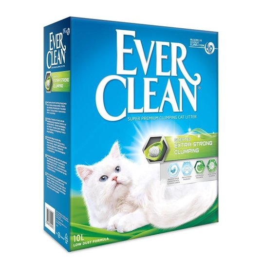Ever Clean Xtra Strong Scented Kattsand (10 l)