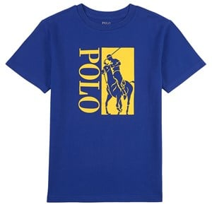 Ralph Lauren Big Pony Logo T-shirt Heritage Royal Blue 2 år