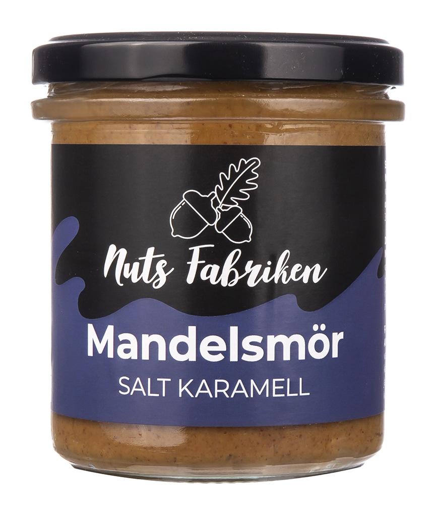 Nuts Fabriken Mandelsmör Salt Karamell 300g