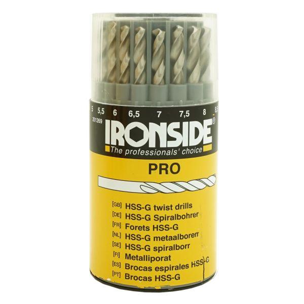 Ironside 201269 Borkassett 19 stk. bor, 1–10 mm