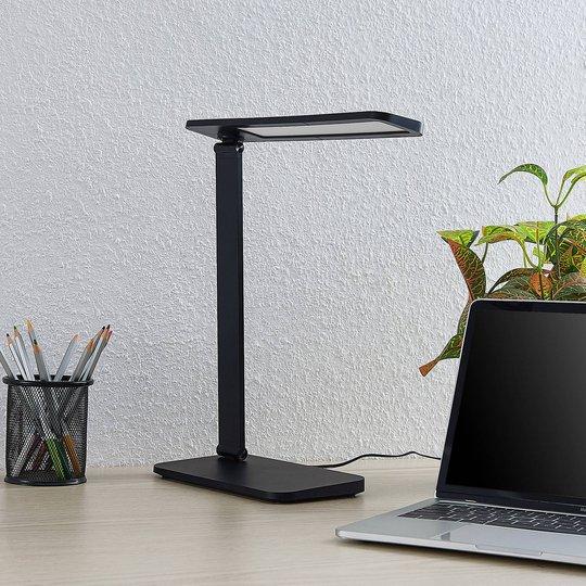 Lindby Hannjo LED-skrivebordslampe, CCT med dimmer