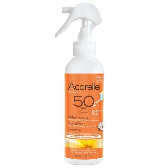 Acorelle Solskyddsspray för barn SPF 50, 150 ml