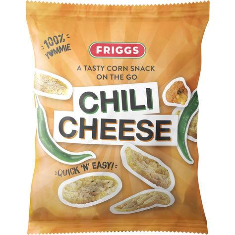 Friggs Majssnacks Chili Cheese 40g