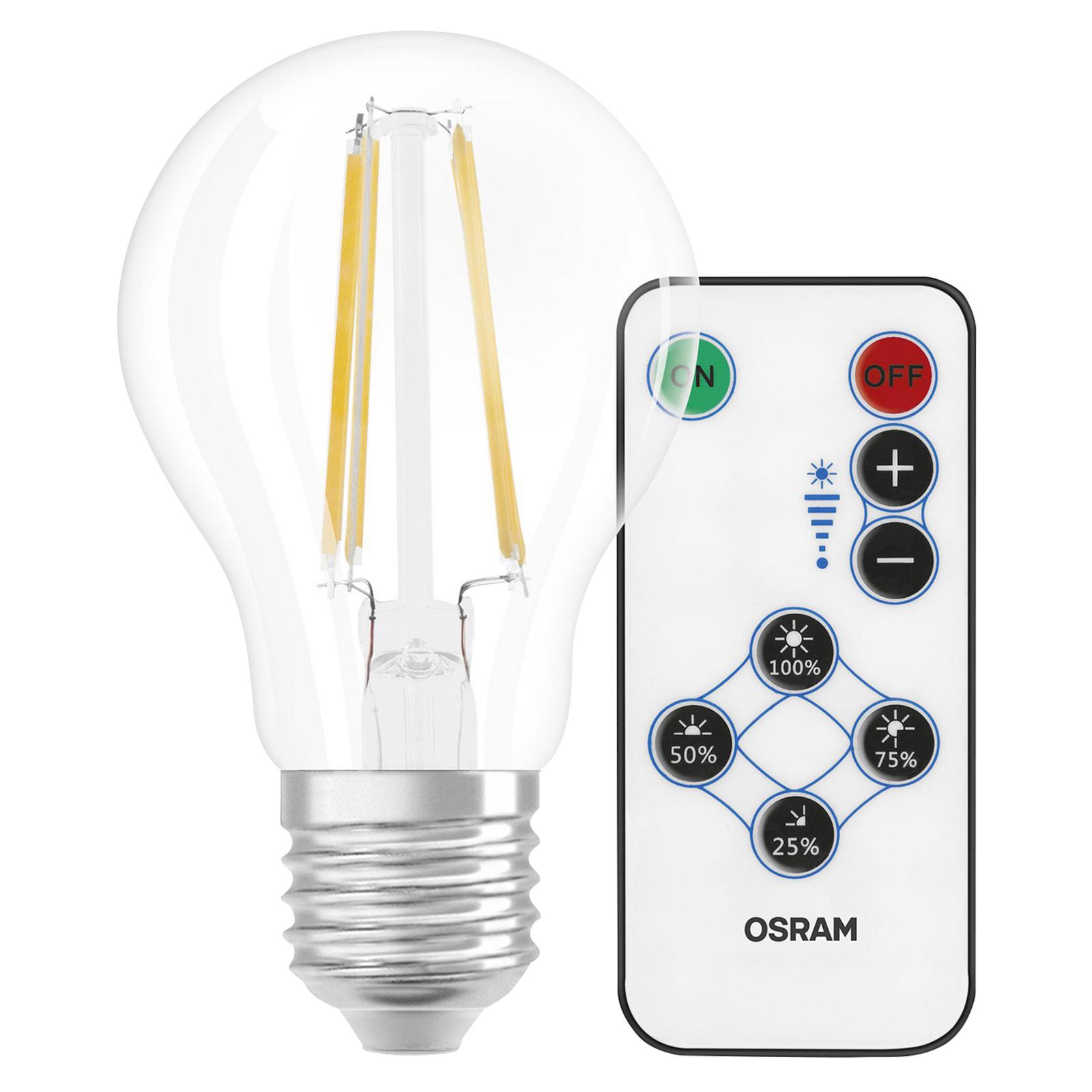 OSRAM-LED-lamppu 7W 827 Step DIM Remote Control