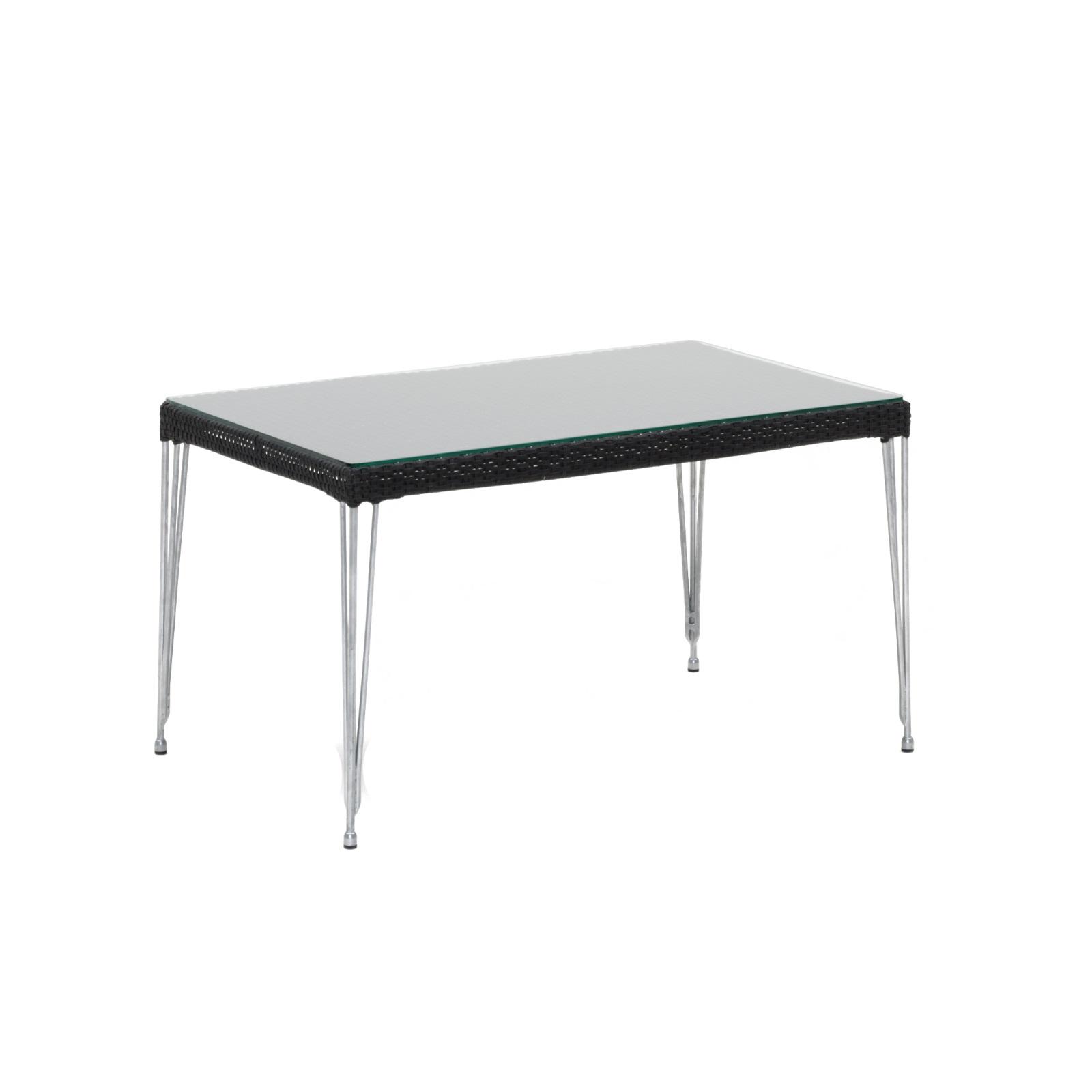 MERCUR soffbord svart konstrotting, Sika-Design