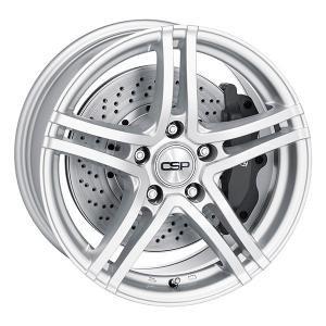 CSP 10 Silver 7.5x17 5/120 ET32 B72.5