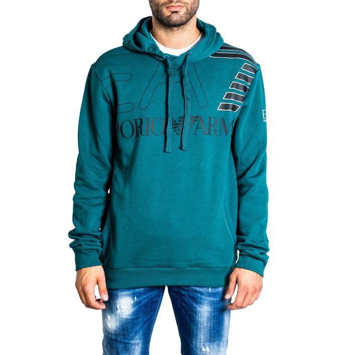 Ea7 Men's Sweatshirts Green 320734 - green XXL