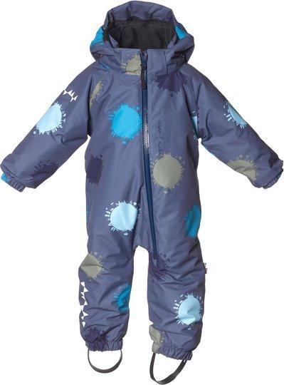 Isbjörn Toddler Vinterdress, Denim Globe 74