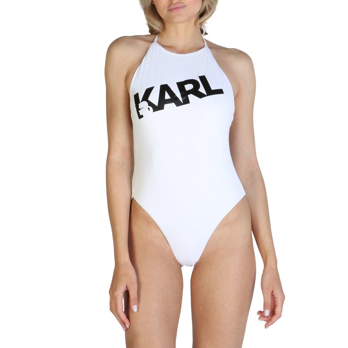 Karl Lagerfeld Women's Swimwear Various Colours KL21WOP03 - white XS