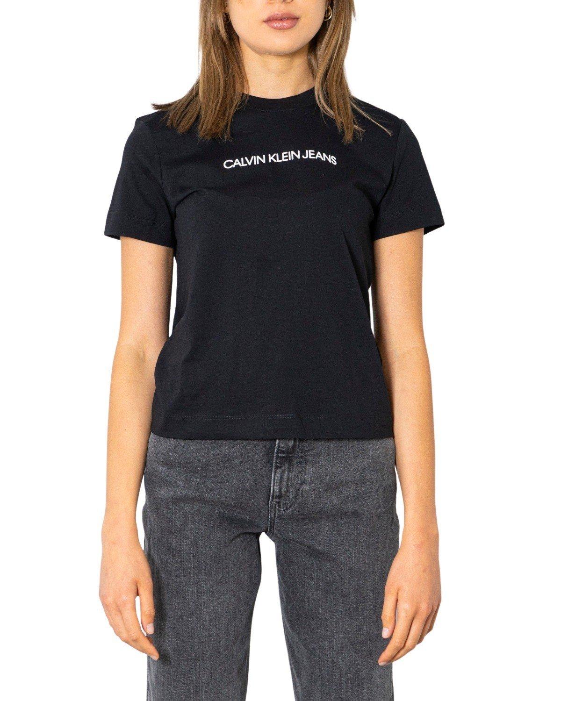 Calvin Klein Jeans Women T-Shirt Various Colours 299673 - black XS