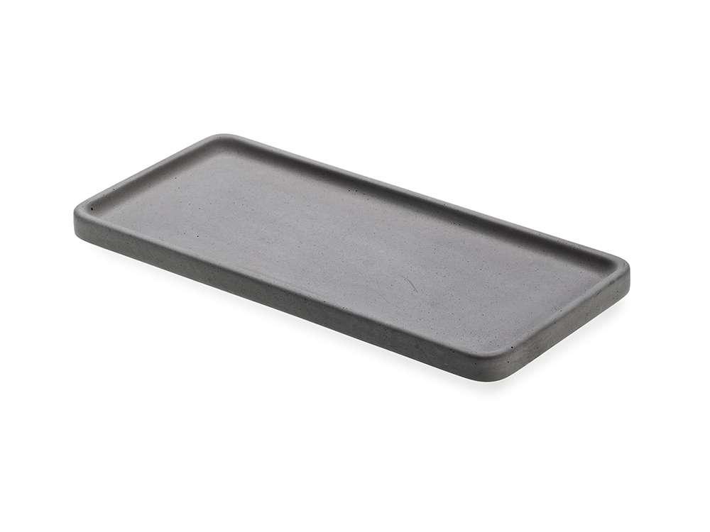 LIKEconcrete - Karin Tray Medium 40 x 20 x 2 cm - Antracit Grey (93766)