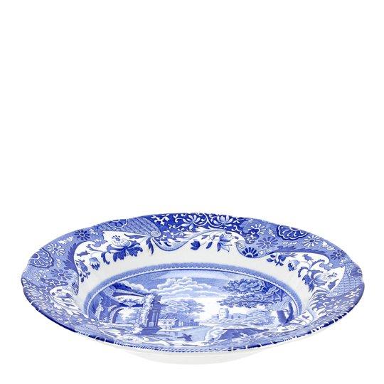 Spode - Blue Italian Tallrik djup 23 cm