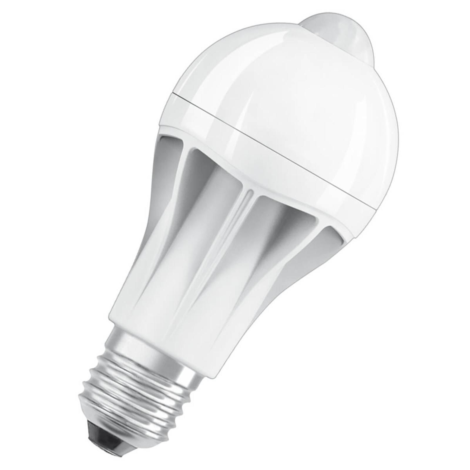 LED-lamppu E27 11W 2 700 K liiketunnistimella