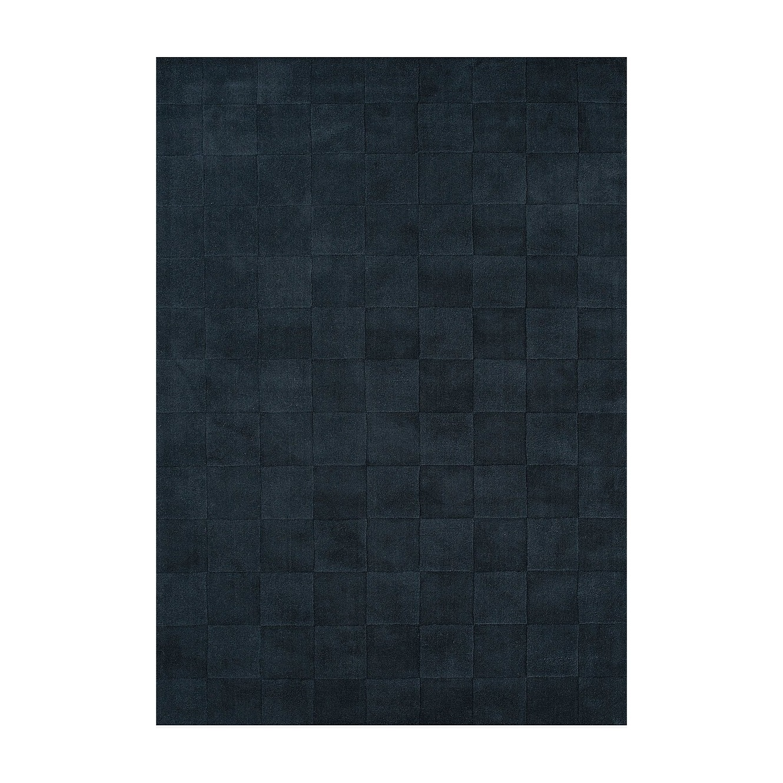 Ullmatta LUZERN 140 x 200 cm Slate, Linie Design
