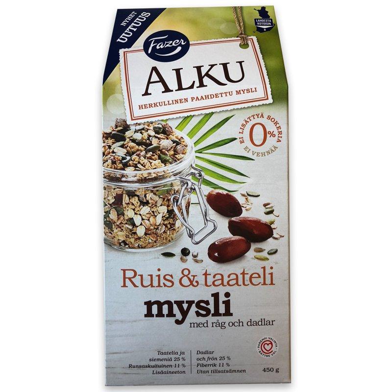 Ruis ja Taateli Mysli 450g - 86% alennus