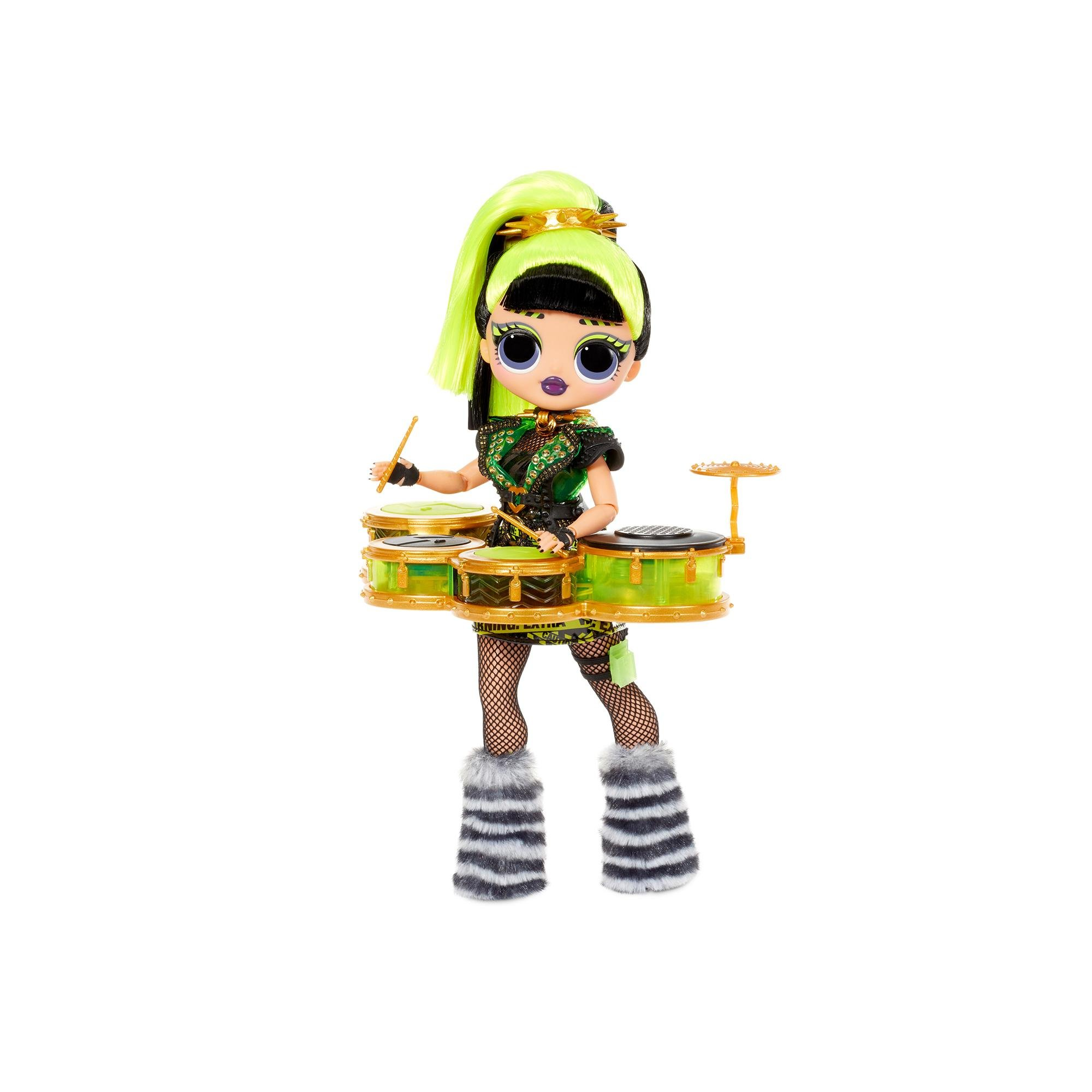 L.O.L. Surprise - OMG Remix Rock Doll - Bhad Gurl and Drums