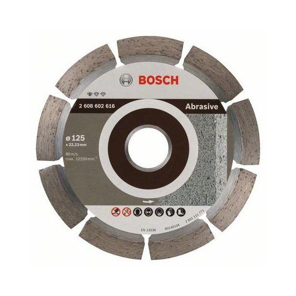 Bosch Standard for Abrasive Diamantkappskive Ø125 mm