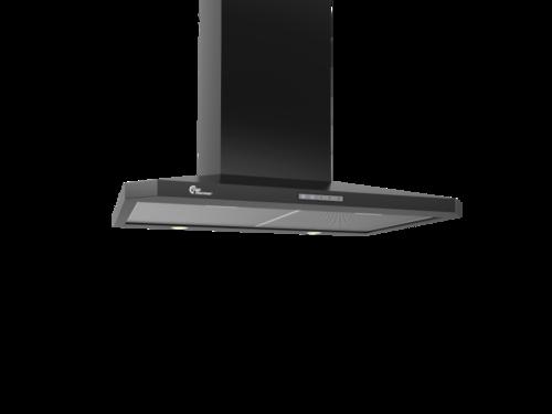 Thermex Decor 787 70cm Sort Vägghängd Köksfläkt - Svart
