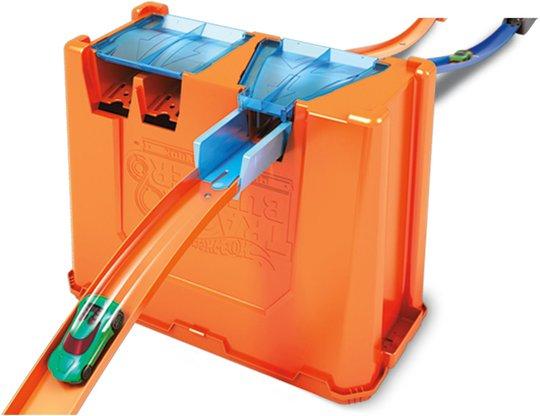 Hot Wheels Track Builder Stunt Box Deluxe