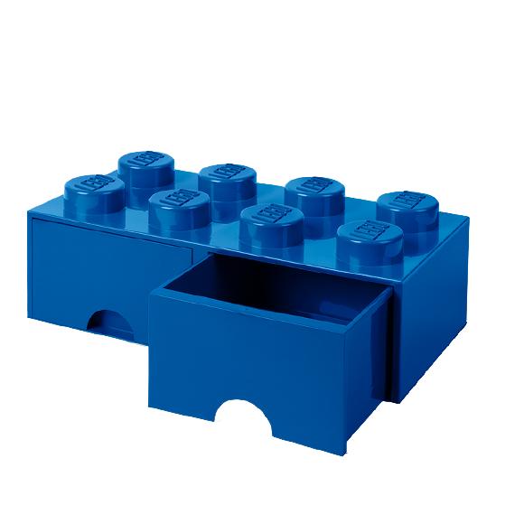 Room Copenhagen - LEGO Brick Drawers 8 - Blue (40061731)