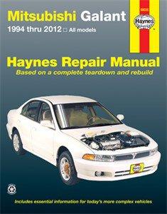 Haynes Reparationshandbok, Mitsubishi Galant, Universal