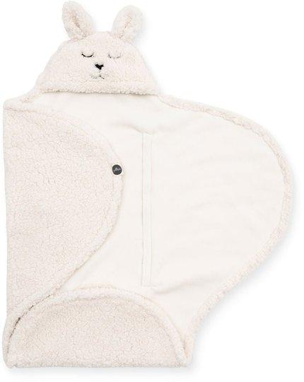 Jollein Bunny Omslagsvognpose, Off-white
