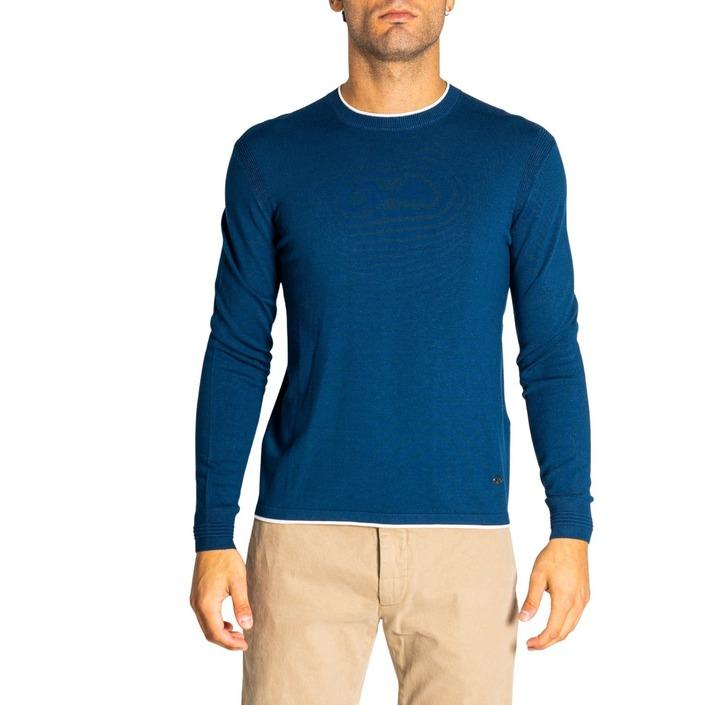 Emporio Armani Men's Knitwear Blue 321266 - blue XS