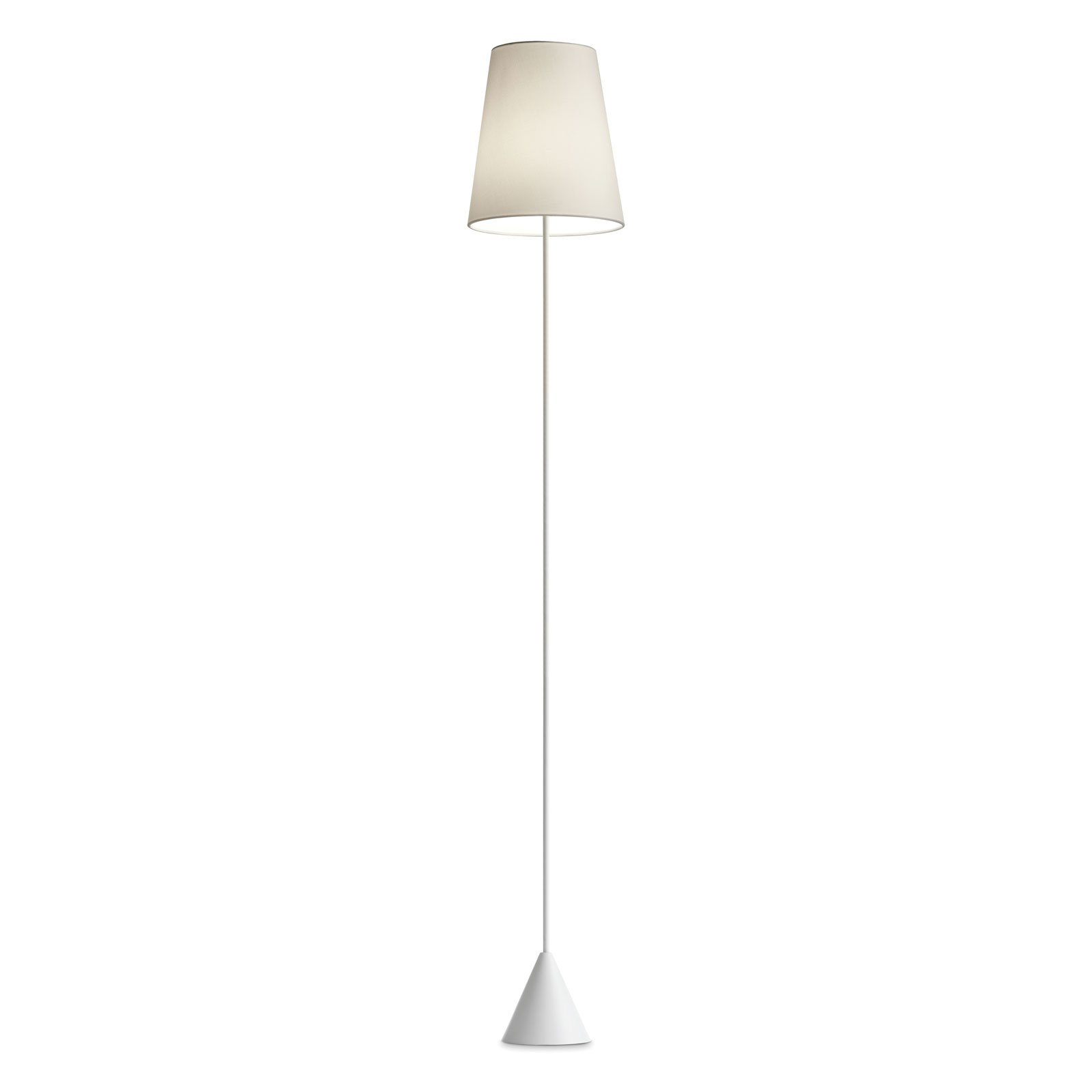 Modo Luce Lucilla gulvlampe Ø 30 cm hvit/elfenben