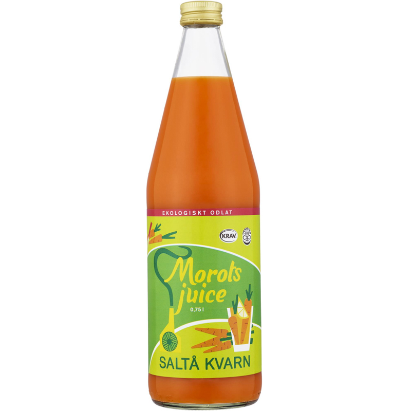 Morotsjuice 750ml - 37% rabatt