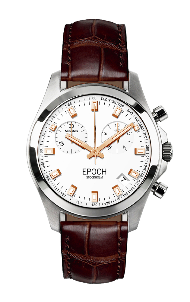 Herrklocka EPOCH President Chronograph Rose Gold EP3305