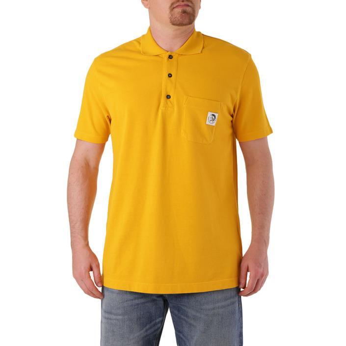 Diesel Men's Polo Shirt Various Colours 283866 - yellow L
