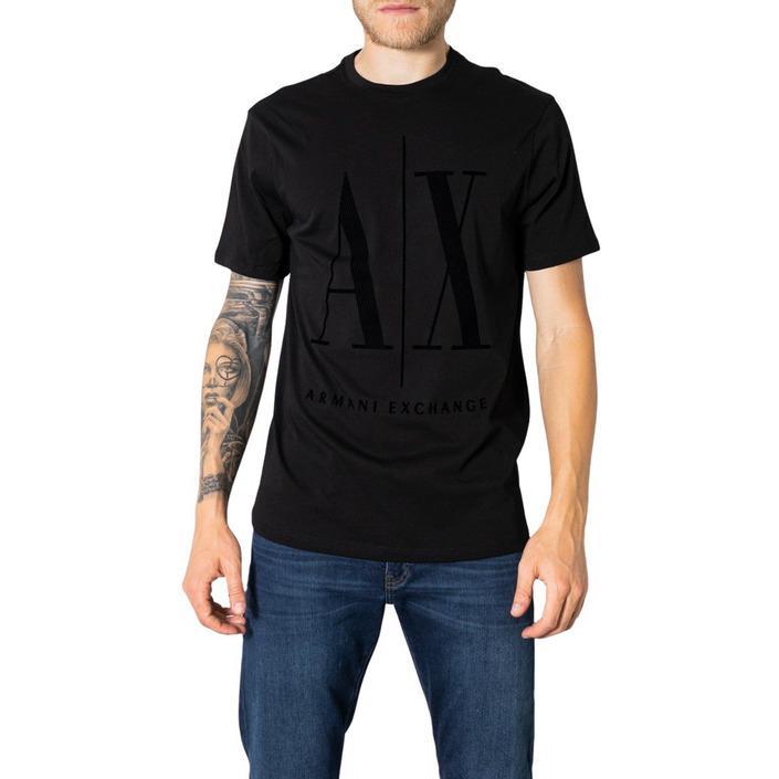 Armani Exchange Men's T-Shirt Black 273272 - black XS