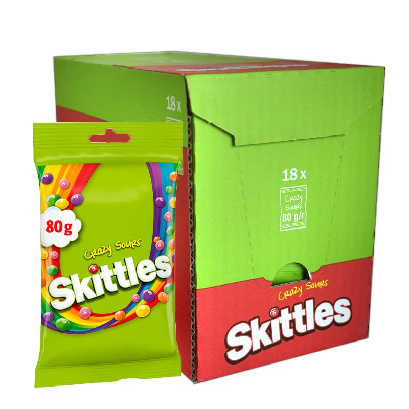 Skittles Sours 18-pack - 29% rabatt