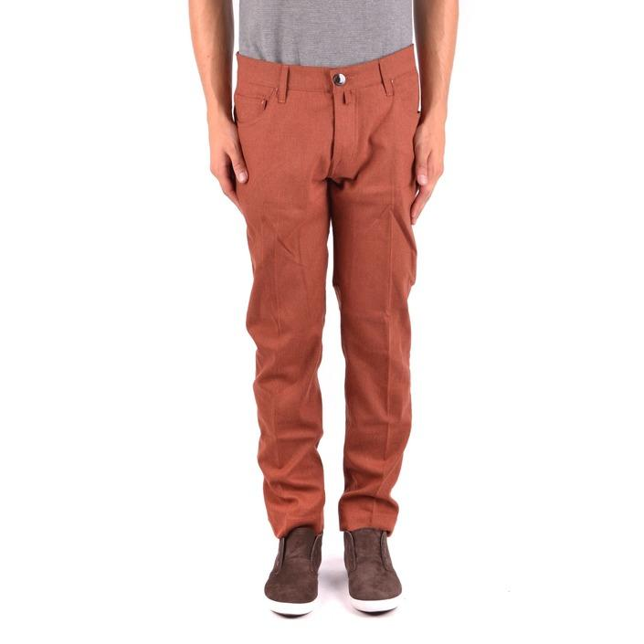 Jacob Cohen Men's Trouser Orange 163645 - orange 33