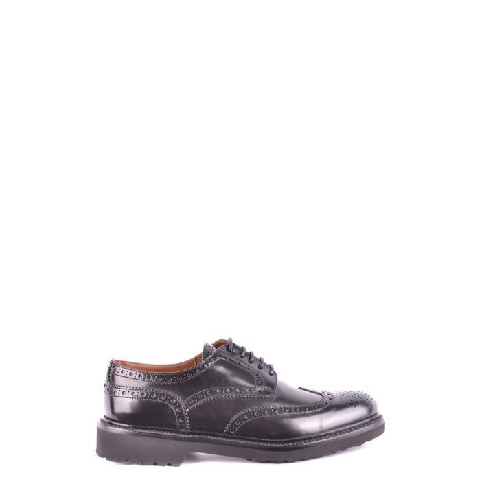 Doucal`s Women's Lace Ups Shoe Black 162557 - black 39