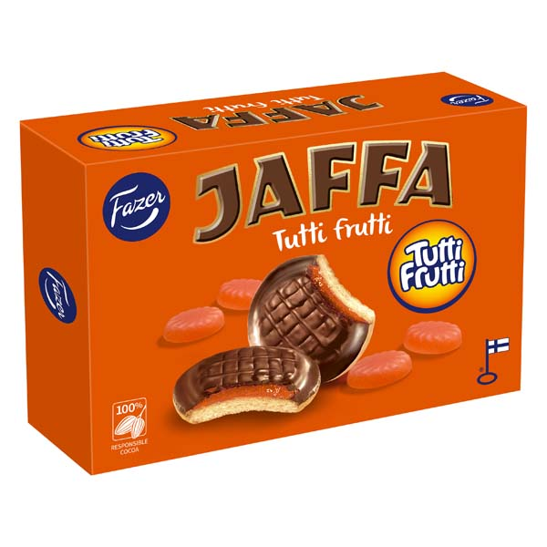 Fazer Jaffa Tutti Frutti 300g