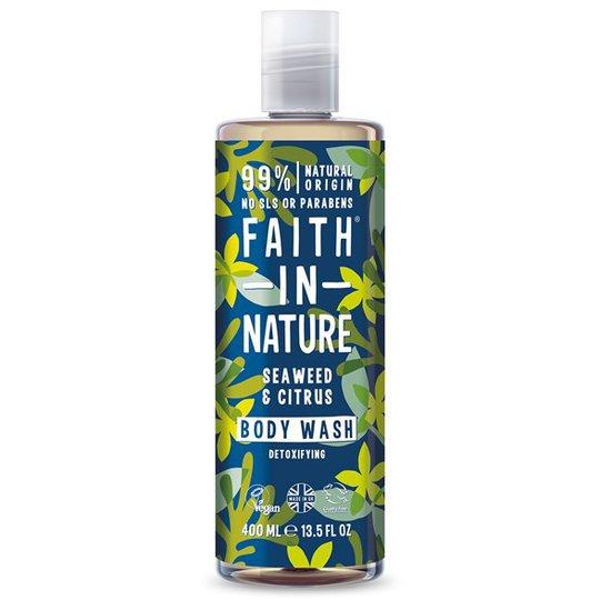 Faith in Nature Seaweed & Citrus Body Wash, 400 ml